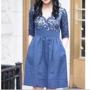 Eliza J navy blue cocktail dress size 14
